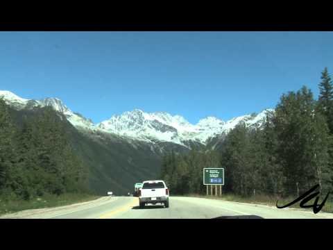 A Rocky Mountain Scenic Drive - British Columbia Canada (видео)