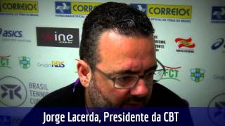 Jorge Lacerda fala da importância do Brasil Tennis Cup