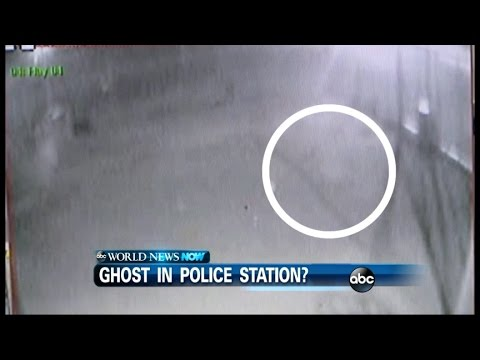 Ghost Appears On Police Surveillance Video