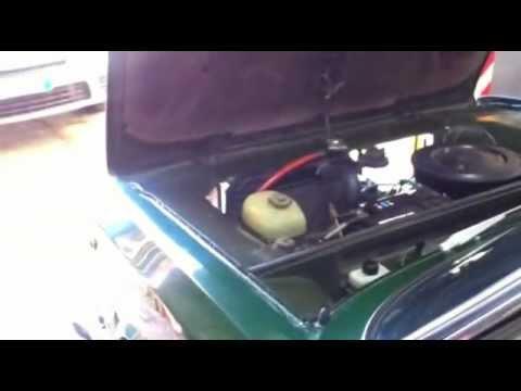 Autobianchi A111 avviamento dopo fermo di 20 anni e sostituzione pompa alimentazione carburante!