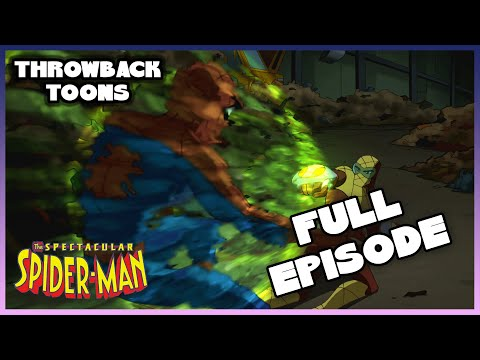 The Spectacular Spider-Man | Market Forces | Season 1 Ep. 4 Full Episode | Throwback Toons