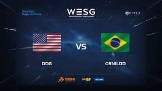 Dog vs Osnildo, game 1