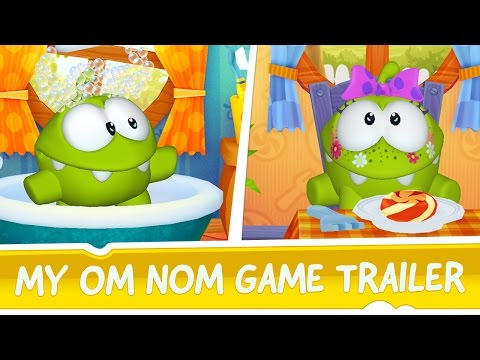 App - My Om Nom is available exclusively on the App Store http://zep.tl/youtube/myomnom/ios ! Adopt your own Om Nom, the cutest candy-eating monster in the world!