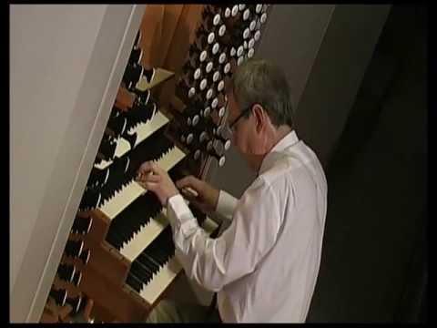 Kay Johannsen spielt die freie Orgel-Improvisation