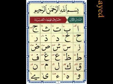 Al Noorania lesson 1 Qaidah Al Nourania (видео)