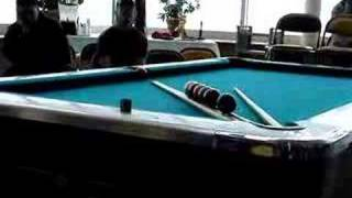Dr Cue's Railroad Billiard Shoot