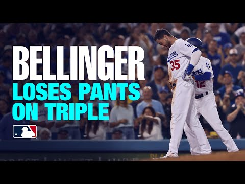 Video: Belli clears bases, loses pants!