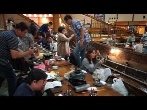 在日本的新型態居酒屋「自己想吃的魚自己釣」,不但飲料調酒喝到飽而且還「很好玩喔!」