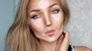 How to Contour and Highlight    For Beginners - YouTube