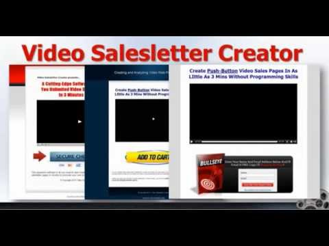 Video Sales Letter Creates Video Lead Capture Pages Quickly & Make Money Online Easly