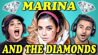 Video COLLEGE KIDS REACT TO MARINA AND THE DIAMONDS MP3, 3GP, MP4, WEBM, AVI, FLV Maret 2018