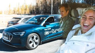 Download Video TESTING THE NEW AUDI E-TRON! | VLOG⁴ 15 (Part 1) MP3 3GP MP4
