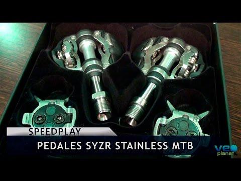 Mercado al día BikeZonaTV - Análisis de pedales Speedplay SYZR Stainless MTB