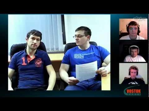 Новогодний стрим. 27.12.2012 © Vostok Games