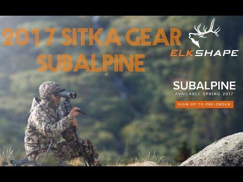 Sitka Gear 2017 - Subalpine