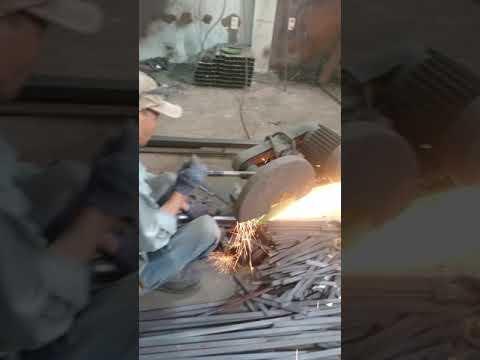 Quy trình uốn nóng và gia công tại xưởng cty sắt mỹ thuật Tuấn Phong