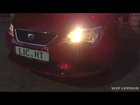 Autofahren lernen A06: Licht bei Nacht - Lichtanlage beim Auto erklärt