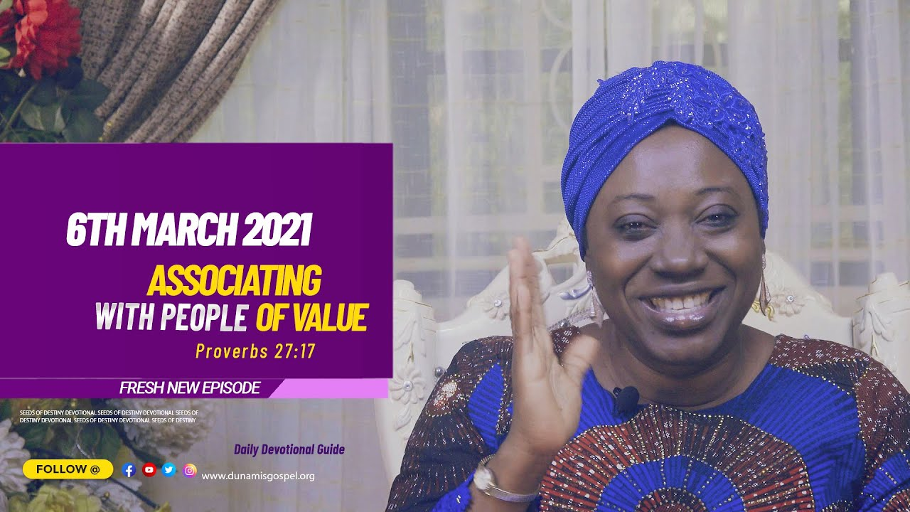 Seeds of Destiny Summary for 6th March 2021 by Dr Becky Paul-Enenche