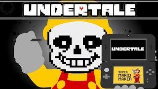 Video Undertales Combat System Recreated in Super Mario Maker. MP3, 3GP, MP4, WEBM, AVI, FLV Oktober 2018