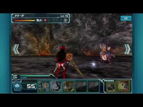 Phantasy Star Online 2 es Mobile Gameplay Boss Fight and Dungeons