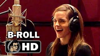 Video BEAUTY AND THE BEAST Voice B-Roll Bloopers Footage (2016) Emma Watson Disney Movie HD MP3, 3GP, MP4, WEBM, AVI, FLV September 2017