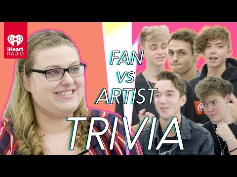 Why Don't We Goes Head To Head With Their Biggest Fan | Fan Vs Artist Trivia