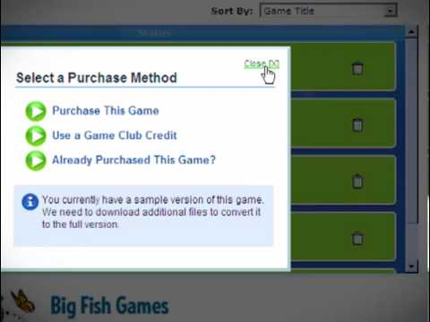 Get big fish games for Big fish game manager