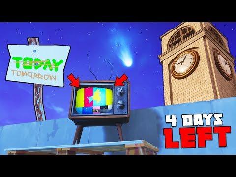 4 Days LEFT... (Fortnite Battle Royale) (видео)