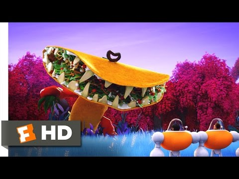 Cloudy with a Chance of Meatballs 2 - Tacodile Supreme Scene (6/10) | Movieclips