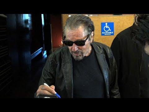 Film Icon Al Pacino Is Super Cool With Eager Fans