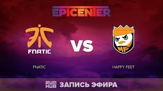 Fnatic vs Happy Feet, EPICENTER SEA Quals, game 2 [Tekcac]