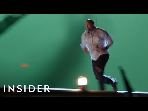 How The Rock Did His Stunts In 'Skyscraper' | Movies Insider