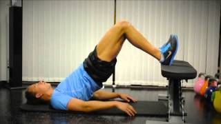 Exercise Index: Glute Bridge with Feet on the Bench