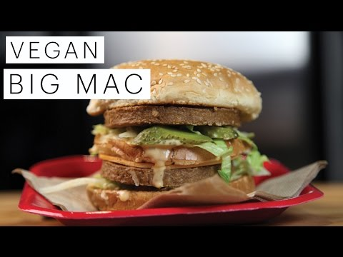 veg - Finally perfected the vegan Big Mac hamburger! Just because you're a vegan doesn't mean that you can't indulge in some junk food every now and again. The tim...