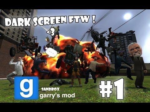 Garry's Mod Еп.1 - Гафове и черен екран FTW