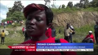 Four people die in accident along Nairobi-Nakuru highway