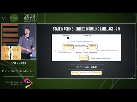"C++Now 2019: Kris Jusiak ""Rise Of The State Machines"""