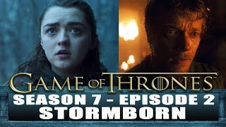 Game of Thrones S7 Episode 2 REVIEW - THEON gets afraid and JON leaves to meet a dragon. Subscribe...