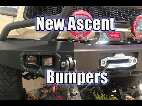 Warn Industries New Ascent Bumpers with Winch Mounts