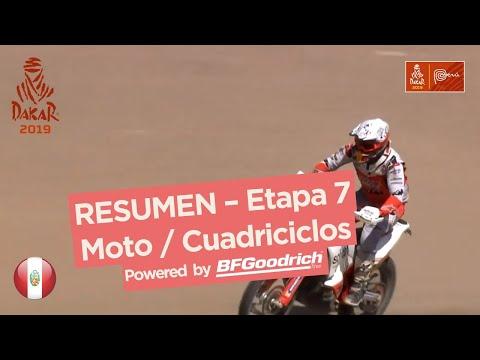 Dakar 2019 - Resumen Etapa 7 motos/quads