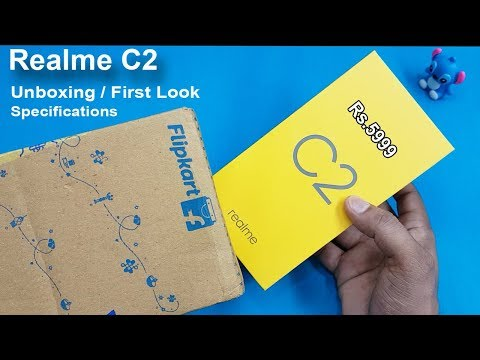 Realme C2  Unboxing / First Look || Realme C2 Review And Specifications/ Rs.5999