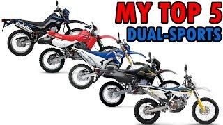 9. My Top 5 Dual Sport / Enduro Motorcycles | MotoVlog #22
