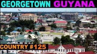 Country number 9 of 10 on my Caribbean island hop by air. I fly into Guyana, on the northern coast of South America.