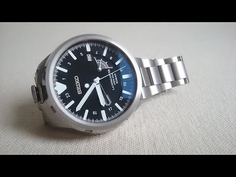 Landmaster - This is the remarkable Seiko Landmaster Spring Drive. Its shape is reminiscent of a unicorn. The watch time is calibrated by an electric circuit. Although it...