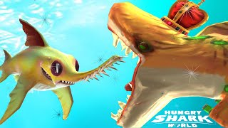 New Baby Shark Logan Saw Shark Week Event | ATOMIC SHARK High Score - Hungry Shark World