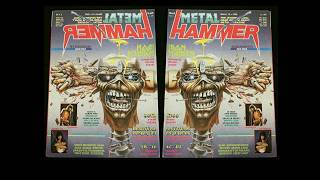 Metal Hammer Magazines - Iron Maiden - 1987 - 1988. Please Like, Share, And Subscribe. Thank You.