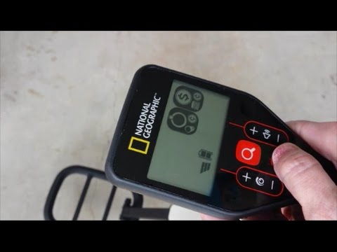 Minelab Go Find Metal Detector - National Geographic Pro - Ultra Light - Tutorial