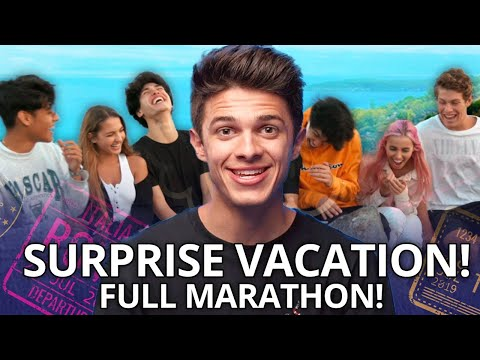 Brent Rivera takes his Best Friends on a DREAM VACATION, Ben Azelart, Lexi Rivera, The Stokes Twins