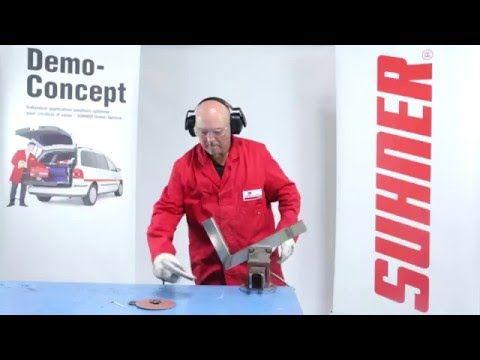 Lightweight Fillet Weld Finishing with Suhner Polishing Tools