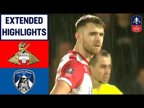 Late Whiteman Winner Sends Rovers Through! | Doncaster Rovers 2-1 Oldham | Emirates FA Cup 2018/19